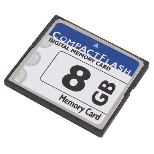 calistouk High Speed 8GB Compact Flash CompactFlash CF Speicherkarte 8GB für Kamera (Compactflash-kit)