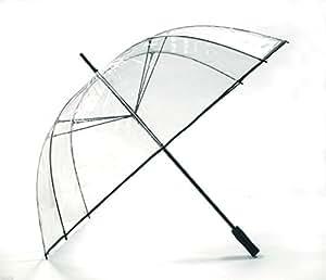xxl golfschirm transparent regenschirm durchsichtig mit fiberglas speichen partnerschirm. Black Bedroom Furniture Sets. Home Design Ideas