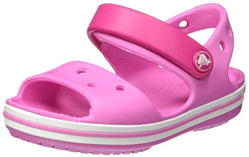 crocs Unisex-Kinder Crocband Sandal Kids Clogs, Pink (Candy Pink/Party Pink), 22-23 EU
