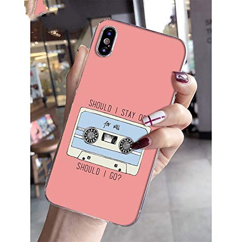 NINESH Stranger Things Colorful Cute Phone Accessories Case for Apple iPhone 8 7 6 6S Plus X XS MAX 5 5S SE XR Mobile Cases,A7,for iPhone XS MAX