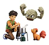 G.E.M. series Pokemon Takeshi & GEODUDE & translocon about 70mm PVC & ABS-painted PVC Figure