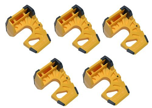 wedge-it-Der ultimative Türstopper-Gelb (5Stück)