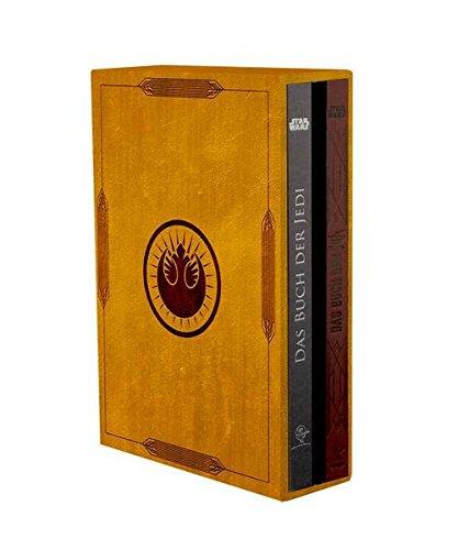 Livres Couvertures de Star-Wars-Schuber - Das Buch der Jedi und Das Buch der Sith
