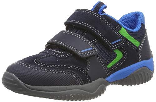 Superfit Jungen Storm Sneaker, Blau (Blau/Blau 80), 39 EU