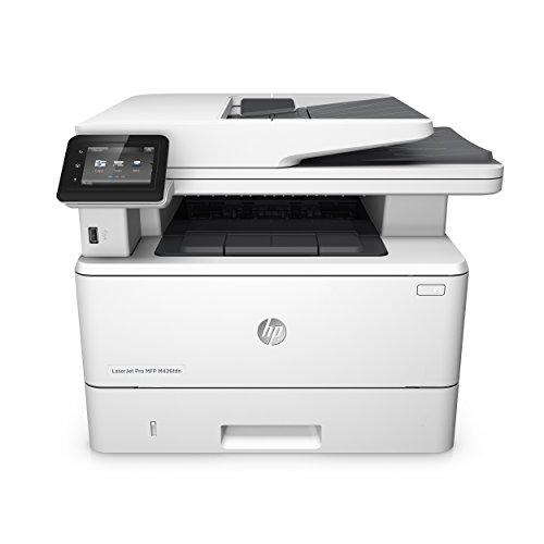 HP Laserjet Pro M426fdn Laserdrucker Multifunktionsgerät (Drucker, Scanner, Kopierer, Fax, LAN, Duplex, HP ePrint, Airprint, USB, 4800 x 600 DPI) Weiß (Hp Laserjet Duplex)
