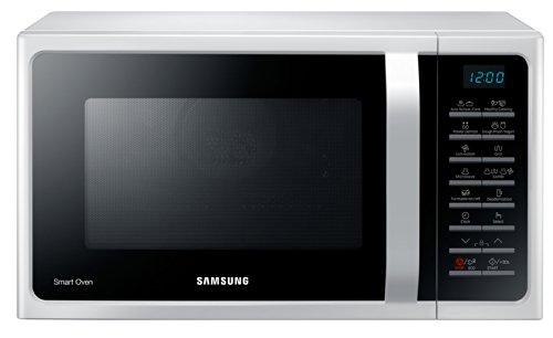 Samsung MC28H5015AW Forno a Microonde 900 W, Grill 1500 W, Capacità 28 L, Colore Bianco