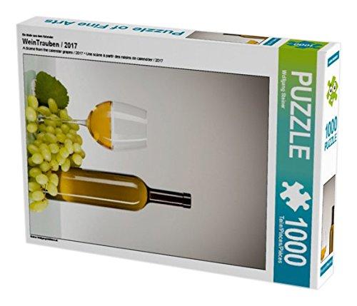 Preisvergleich Produktbild Ein Motiv aus dem Kalender WeinTrauben / 2017 1000 Teile Puzzle hoch (CALVENDO Lifestyle)