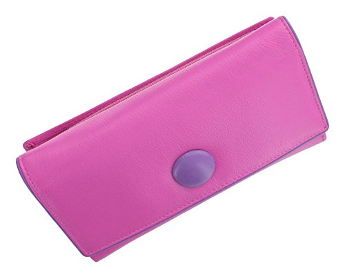 Mala cuoio del tasto Collection borsa 3261_2 nero rosa