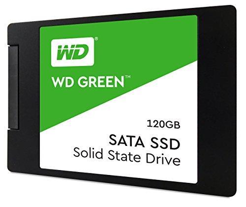 Wd Green Ssd 120 Gb, 2,5 Zoll Interne Festplatte Bis Zu 545 Mbs Lesegeschwindigkeit; Ssd (Solid State Drive) - Sata 6 Gbits