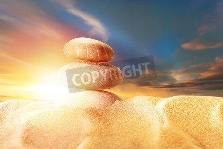 Leinwandbild Wellen Klippe