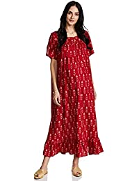 Momstory Rayon a-line Dress