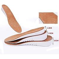 Fußpflege Pads Leder Material Einlegesohle Erhöhung 13-35mm Einlegesohlen für Männer preisvergleich bei billige-tabletten.eu
