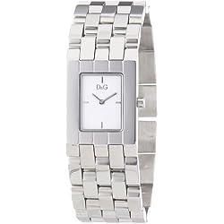 D&G Dolce&Gabbana Women's Quartz Watch DW0741 DW0741 with Metal Strap