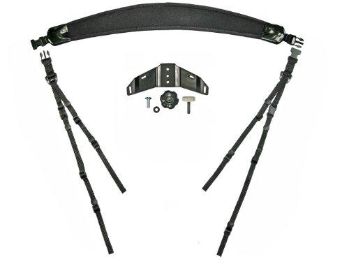DeluxGear Lens Cradle Halterung und Stativfunktion für Teleobjektive mit Stativschelle -