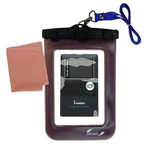 Une sacoche de protection, waterproof, Clean and Dry pour le Cowon iAudio X5