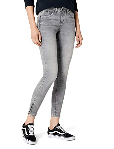 City-denim-hose (ONLY Damen onlKENDELL REG SK ANK JEANS GREY NOOS Jeanshose, Grau (Medium Denim), W25/L32 (Herstellergröße: 25))