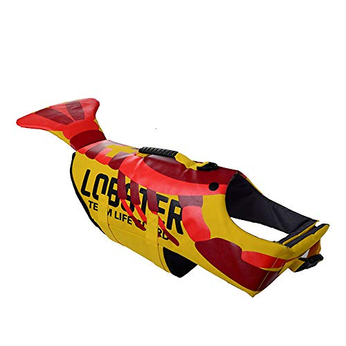 LOVEPET Pet Schwimmweste Hund Cosplay Hai Hummer Schildkröte Bademode Rettungsweste Kleiner Mittlerer Und Großer Schwimmanzug Für Hunde (Pullover Hai-hund)