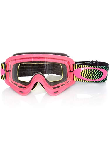 Masque Motocross Oakley O-Frame Shockwave Pyg-Clear (Default , Noir)