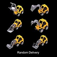 Fancysweety Machineshop Truck Artificial Model Toy Car Mini Construction Vehicle Engineering Car Dump Truck Children Gift Tractor Toys