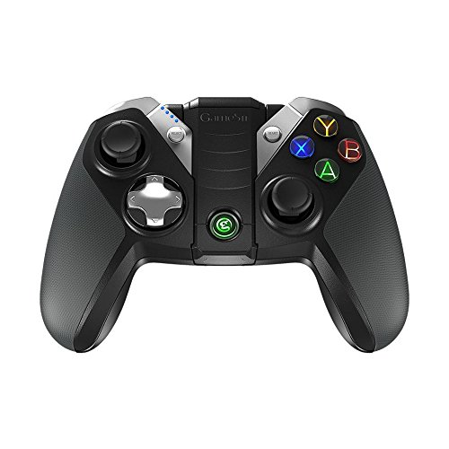 GameSir G4s – Mando de Bluetooth para Juegos, Controlador inalámbrico de 2.4 GHz, compatible con Smartphone / Tableta Android, Windows PC, PS3, Smart-TV, Samsung VR etc.