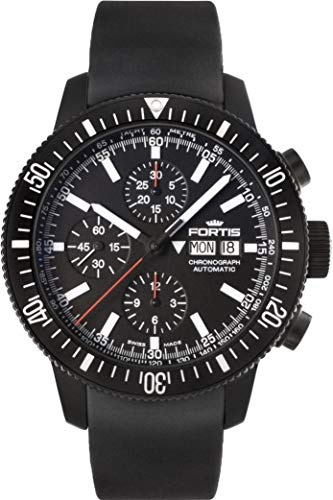 Fortis B-42 Monolith 638.18.31.K Automatic Mens Chronograph PVD-plated