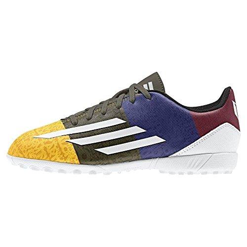 adidas  F5 Tf J Messi,  Jungen Fußballschuhe bunt - Bianco / Nero / Blu / Rosso