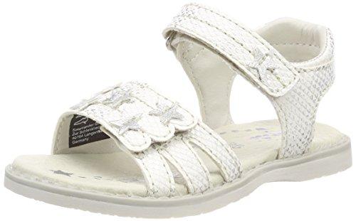 Lurchi Mädchen Lulu Offene Sandalen, Weiß (White), 34 EU