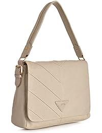 JETTE Mrs. Stevens Flap Bag 4030001010, Damen Henkeltaschen 31x22x12 cm (B x H x T)