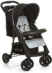 عربة اطفال شوبر نيو II، من هوك، للاطفال من عمر الولادة وحتى 25 كغم - فضي، قطعة واحدة