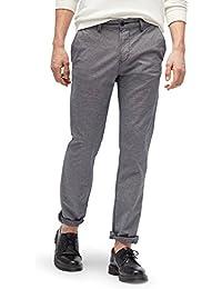 TOM TAILOR DENIM Pants / Trousers gemusterte Chino