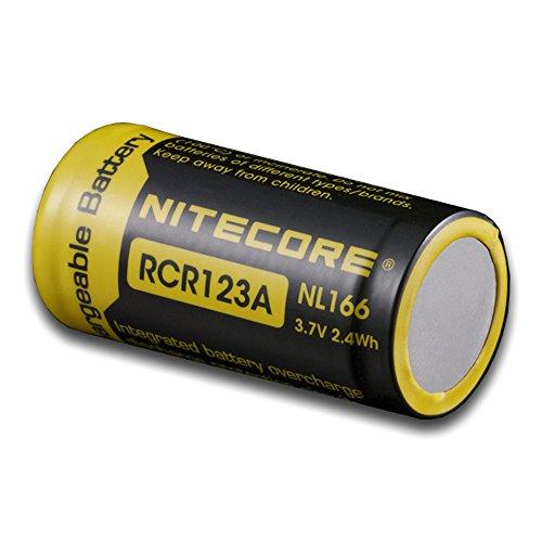 Galleria fotografica NITECORE Batteria 16340 RCR123 IC Protected 650 mAh NC-16340