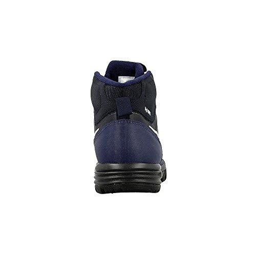 Nike  685621-401, espadrilles de basket-ball garçon Bleu marine-Noir