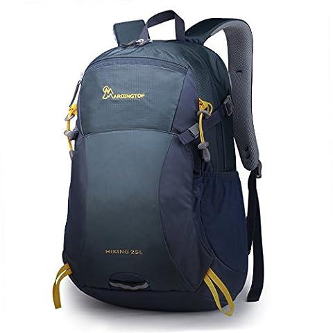 Mardingtop 25L Rucksack für Camping / Wandern / Reisen / Schultasche,51X32X16cm