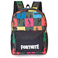 Fortnite Backpack | School Bags For Boys | Camouflage Backpack, Kids Rucksack, Children Back Bag | School Bags For Teenagers, Adults, Girls | Fortnite Merchandise