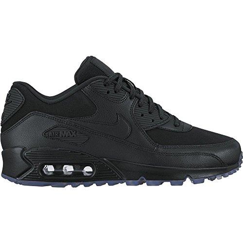 Nike - Maglietta da bambino Boys NSW black-black-blue tint (921304-001)