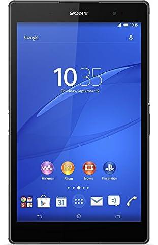 Sony SGP611 Xperia Z3 Tablet Compact 20,3 cm (8 Zoll) Wuxga-Triluminos-Display, 2,5 GHz-Quad-Core, 3 GB RAM, 8,1 Megapixel-Kamera, Android 4.4, 16GB interner Speicher) schwarz