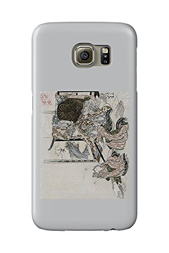 Four Sleepers: Spring Sunrise Japanese Wood-Cut Print (Galaxy S6 Cell Phone Case, Slim Barely There) Womens Sleeper
