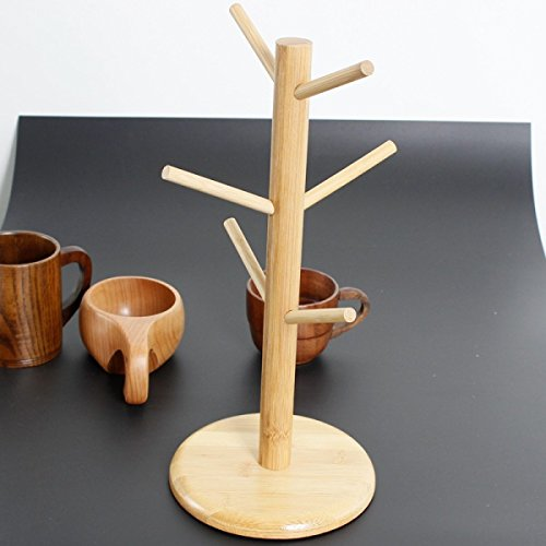 Simple Arbre Porte-gobelets Bambou Porte-gobelets Porte-gobelets