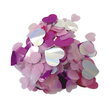 YEY Rico Konfetti Herzen Pink Rosa 20 g.