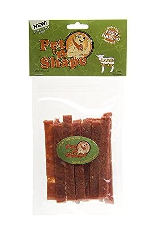 Pet n Shape Lamb Strips Healthy Natural Nutritious Dog Chew Tasty Treats 3oz