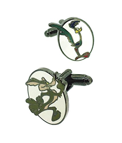 gemelolandia-wile-e-coyote-and-road-runner-cufflinks-colour-assorted-colours