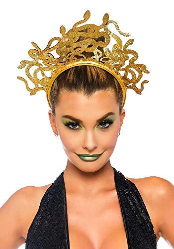 shoperama Medusa Schlangen Kopfschmuck von Leg Avenue Kostümzubehör Tiara Krone Kopfbügel griechische Mythologie