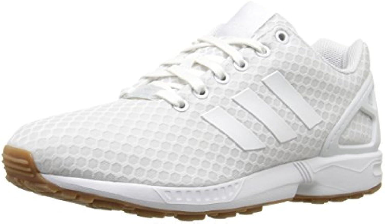 adidas originaux flux hommes zx mode basket, blanc / / / blanc / gum, 8 m b01fy6ofvo parent f3413b
