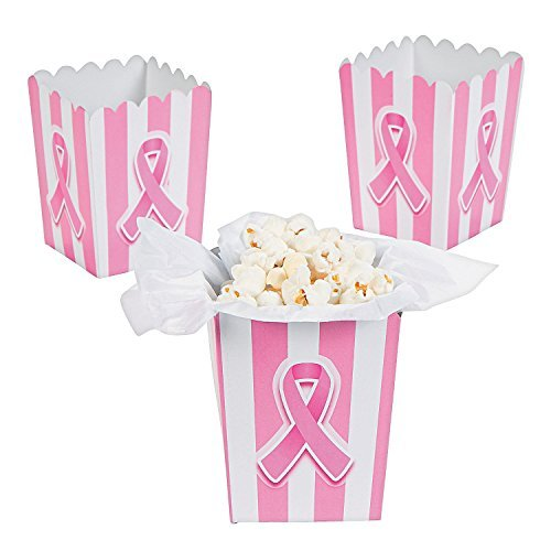 Mini Breast Cancer Awareness Popcorn Boxes (24 Pack) 3