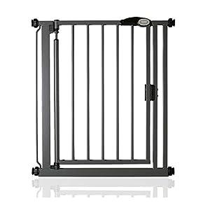 Safetots Pressure Fit Self Closing Gate Range (68.5cm - 75cm, Slate Grey)   12