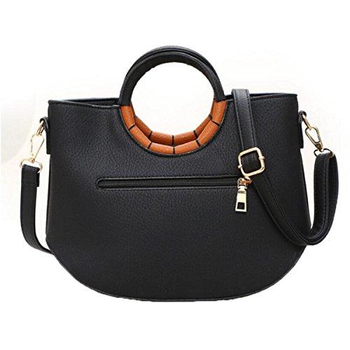 Damen Handtasche Umhängetasche,DarkGreen DarkGreen