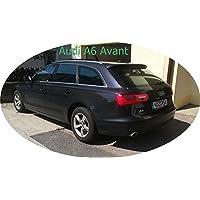 3D-vorgewölbt Tönungsfolie passgenau schwarz 15/% Audi A6 C6 4F Avant 05-11