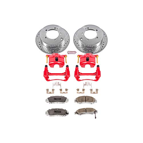 Power Stop KC1237-26 Z26 Street Warrior Brake Kit with Powder Coat