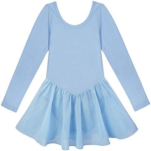 iEFiEL Vestido Elegante de Princesa Ballet Danza Vestido Clásico Tutú con Braguita Interior Leotardo Suave para