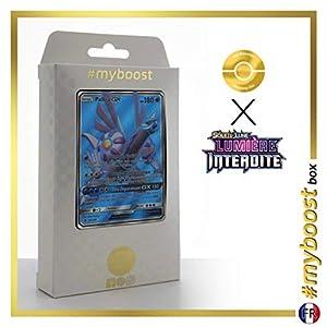 Palkia-GX 119/131 Full Art - #myboost X Soleil & Lune 6 Lumière Interdite - Box de 10 Cartas Pokémon Francés